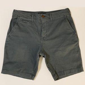 5-Pocket Plainfront Shorts